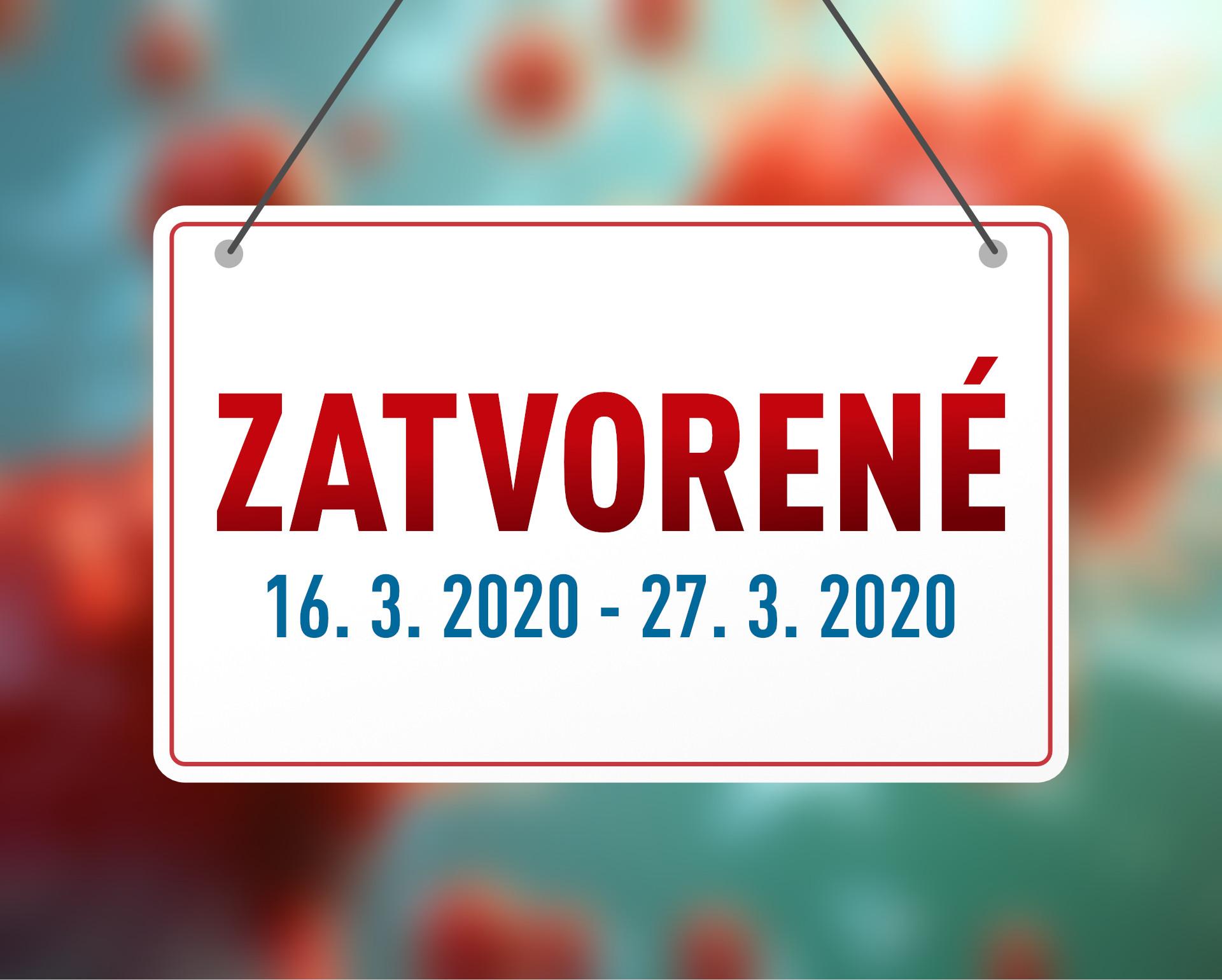Dočasné uzavretie pracovísk EuroPainClinics – koronavírus