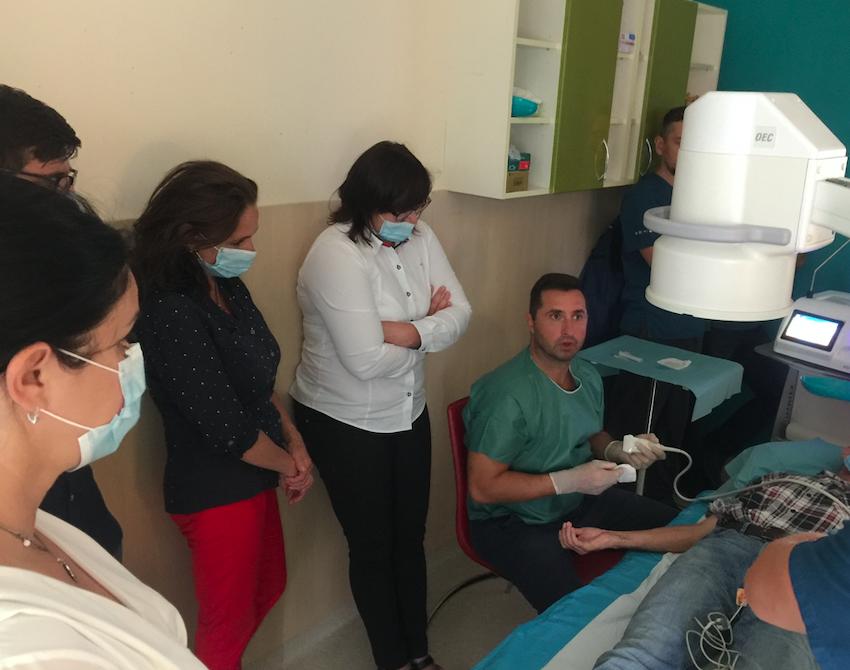 Lekársky seminár na výkon kryoablácie v Bardejove