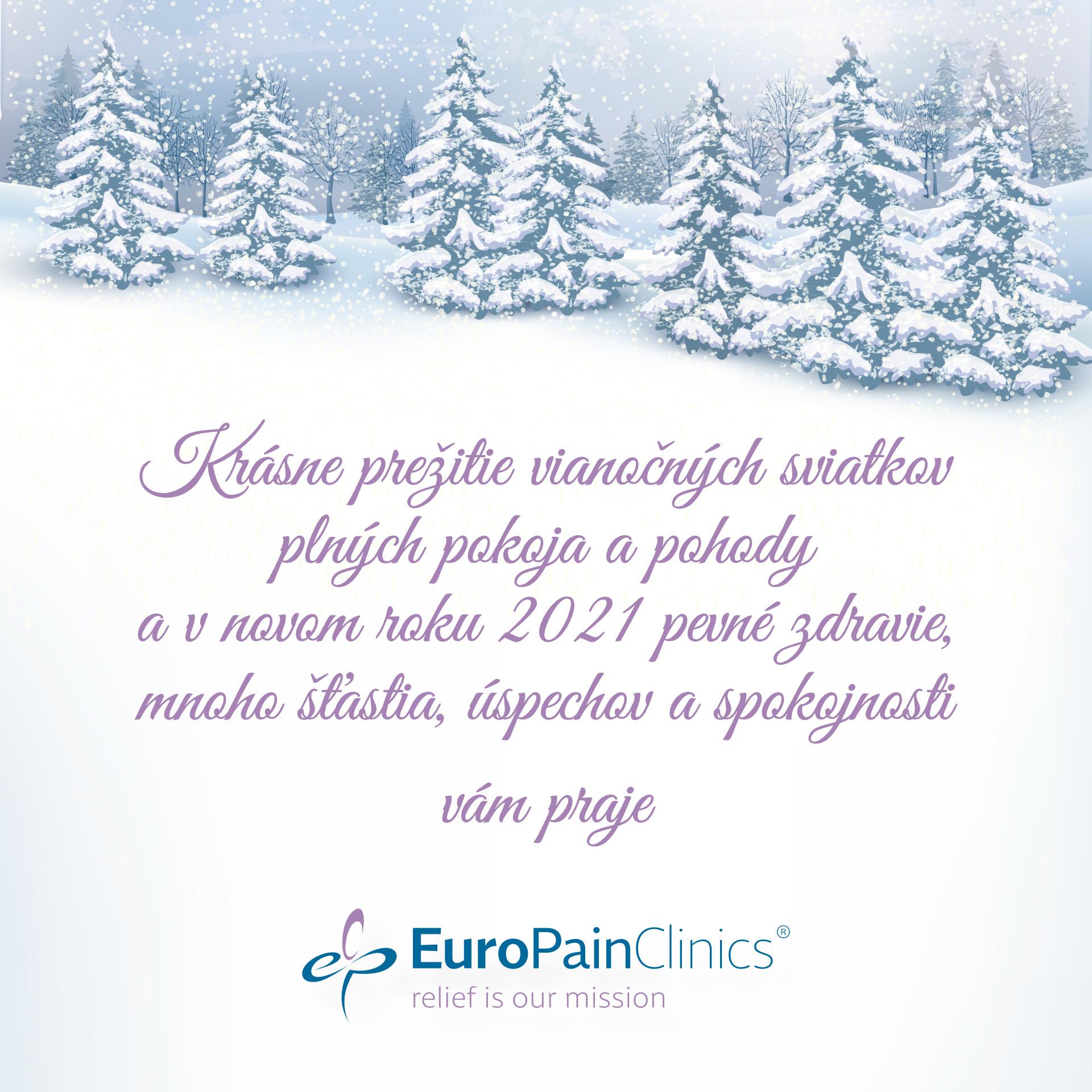 Krásne Vianoce a šťastný nový rok 2021!