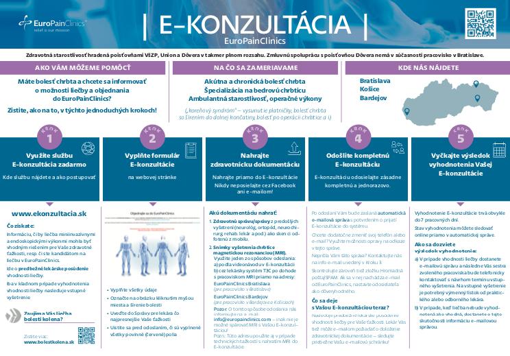 Sprievodca službou E-konzultácia krok za krokom